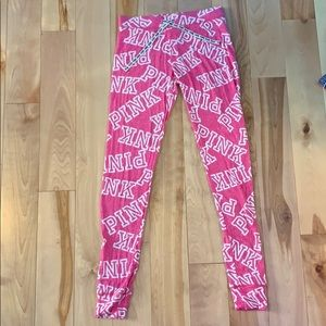 pink pj pants